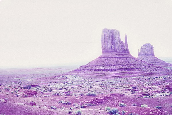 Monument Valley in Arizona is one of the most recognizable features in the American Southwest.